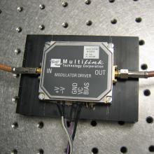 A modulator driver