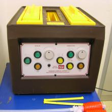 PCB etching unit.